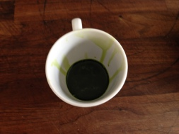 The spinach emulsion